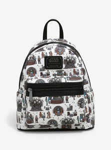 Loungefly Star Wars Mos Eisley Cantina Mini Backpack New York Comic Con Exclusive