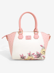 Loungefly Star Wars Princess Leia Floral Satchel Bag