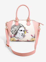 Load image into Gallery viewer, Loungefly Star Wars Princess Leia Floral Satchel Bag