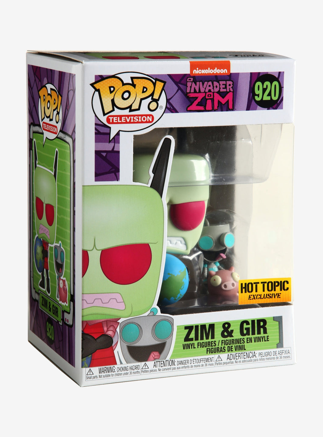 Funko Pop! #920 Zim and Gir