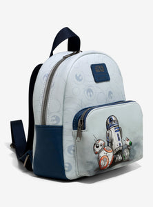 Loungefly Star Wars Droids Mini Backpack