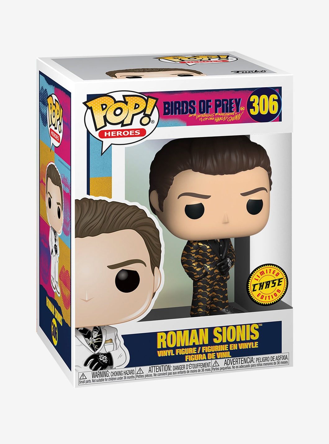 Funko Pop! #306 Roman Sionis Chase