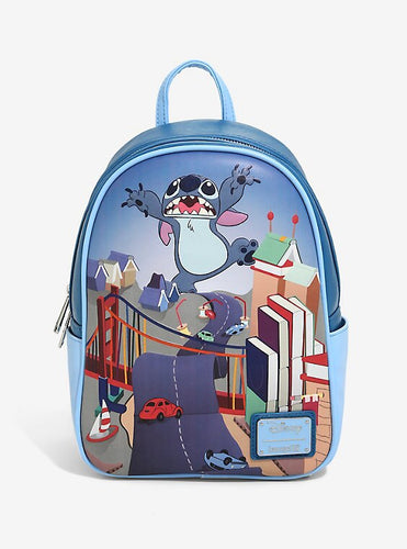 Loungefly Disney Lilo & Stitch Badness Level Mini Backpack