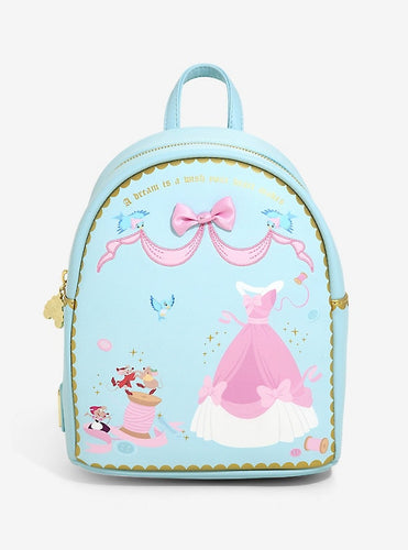 Loungefly Disney Cinderella Sewing Mini Backpack