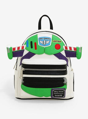Loungefly Disney Pixar Toy Story Buzz Light-Up Mini Backpack