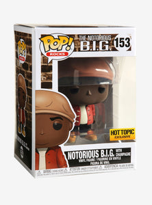 Funko Pop! #153 The Notorious B.I.G. with Champagne