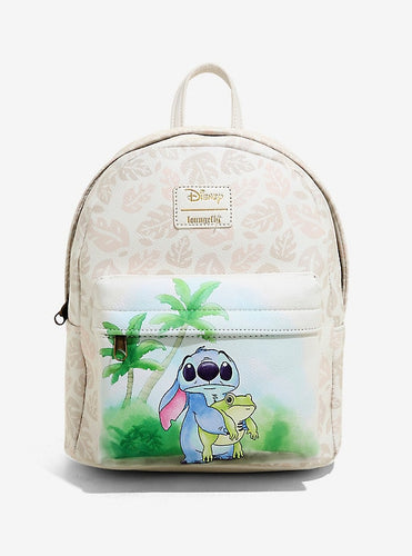 Loungefly Disney Lilo and Stitch Frog Mini backpack