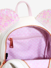 Load image into Gallery viewer, Loungefly Disney Minnie Mouse Iridescent Sequin Mini Backpack