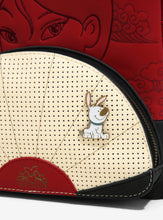 Load image into Gallery viewer, Loungefly Disney Mulan Fan Pin Collector Mini Backpack