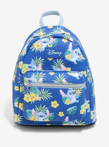 Loungefly Disney Lilo and Stitch Tropical Stitch Mini Backpack