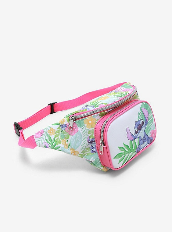 Loungefly Lilo and Stitch Floral Fanny Pack