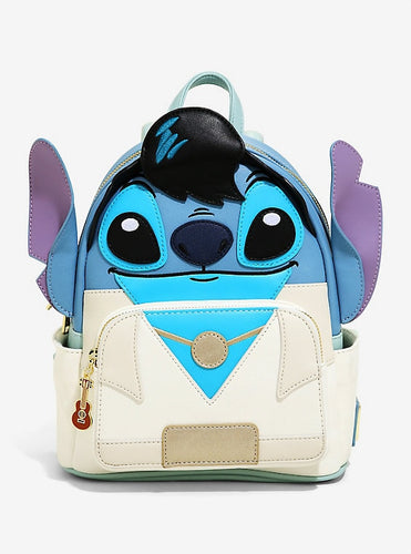 Loungefly Disney Lilo & Stitch Elvis Stitch Mini Backpack