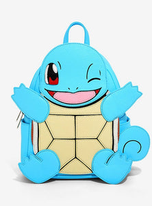 Loungefly Pokémon Squirtle Mini Backpack