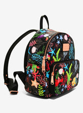 Load image into Gallery viewer, Loungefly Disney The Little Mermaid Flounder & Sebastian Undersea Mini Backpack