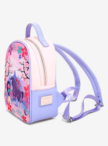 Loungefly Disney Mulan & Friends Canvas-Faced Mini Backpack