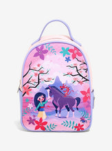 Load image into Gallery viewer, Loungefly Disney Mulan & Friends Canvas-Faced Mini Backpack
