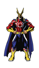 Load image into Gallery viewer, FigPin #X4 All Might Silver Age