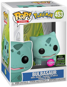 Funko Pop! #453 Bulbasaur Flocked
