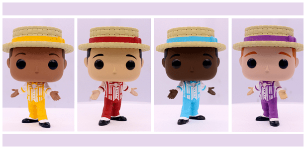 Funko Pop! Dapper Dan 4 Pack D23 Exclusive
