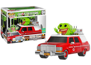Funko Pop! Rides Ecto-1 with Slimer