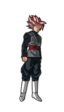 Load image into Gallery viewer, FigPin #55 Rose Goku Black