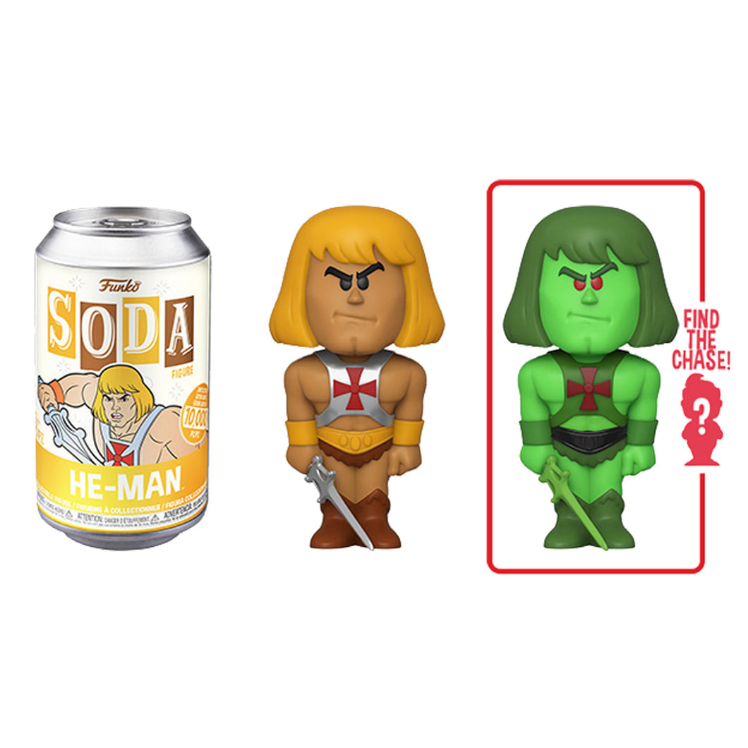 Funko Pop Soda Pop Master of The Universe He-Man