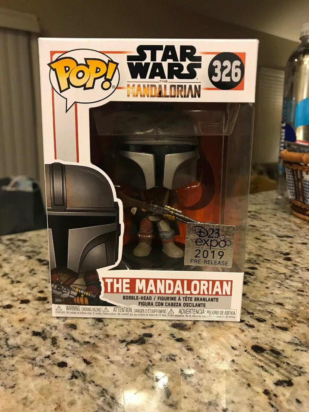 Funko Pop! #326 The Mandalorian D23 Exclusive