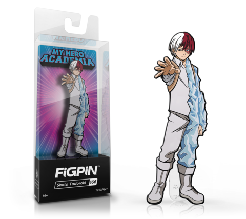 FigPin #166 Shoto Todoroki GameStop Exclusive