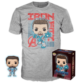 Funko Pop! and Tee Tony Stark (Target Exclusive)