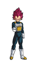 Load image into Gallery viewer, FigPin #192 Super Saiyan God Vegeta