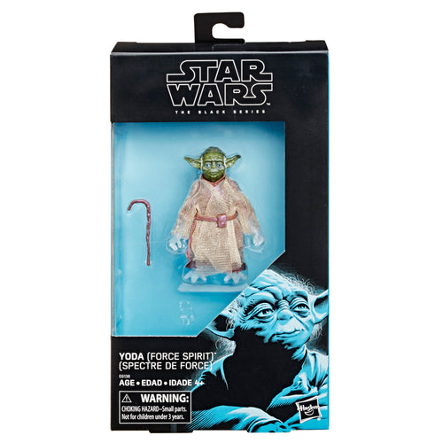 Star Wars The Black Series Star Wars: The Last Jedi Yoda (Force Spirit)