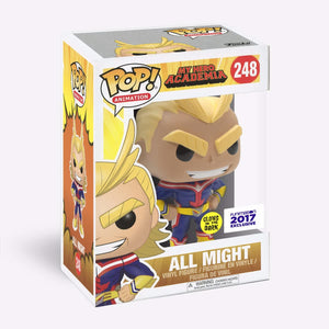 Funko Pop! #248 All MIght Glow (Funimation Excl)