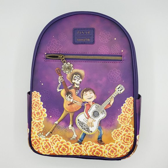 Loungefly Pixar Coco Marigold Mini Backpack