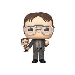 Funko Pop! #882 Dwight Schrute (NYCC) Shared Excl
