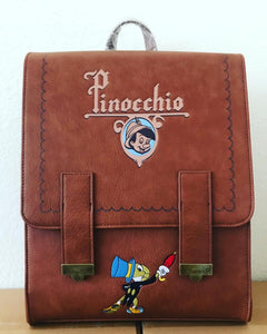 Loungefly Pinocchio Book Mini Backpack