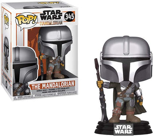 Funko Pop! #345 The Mandalorian Chrome