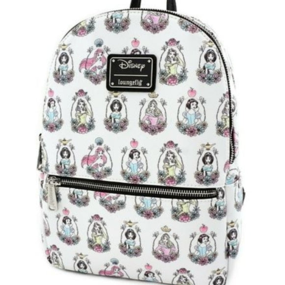 Loungefly Disney Princess Portrait Mini Backpack