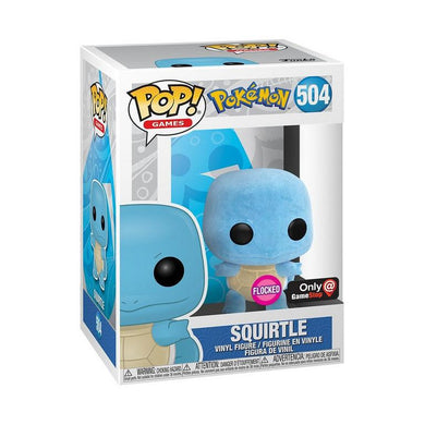 Funko Pop! #504 Squirtle Flocked