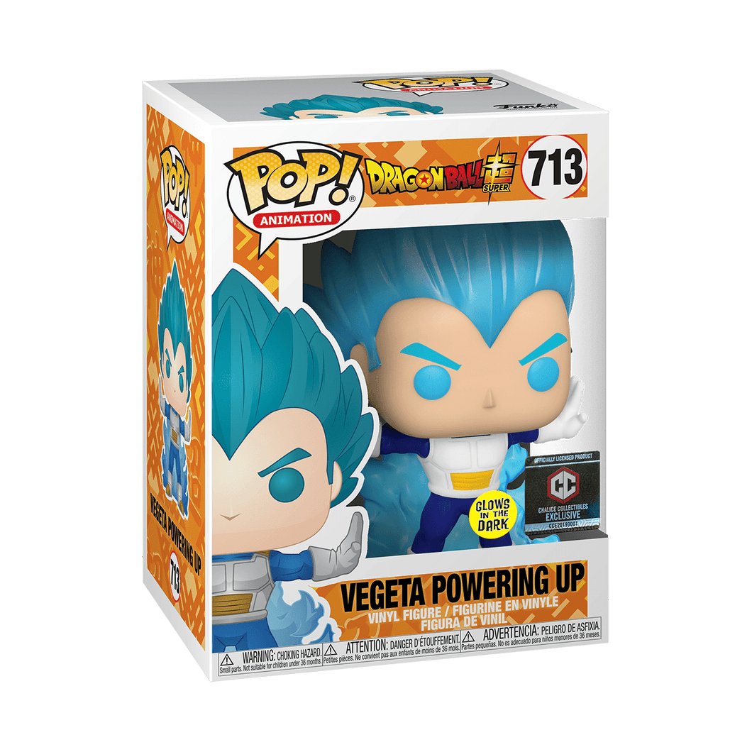 Funko Pop! #713 Vegeta Powering Up