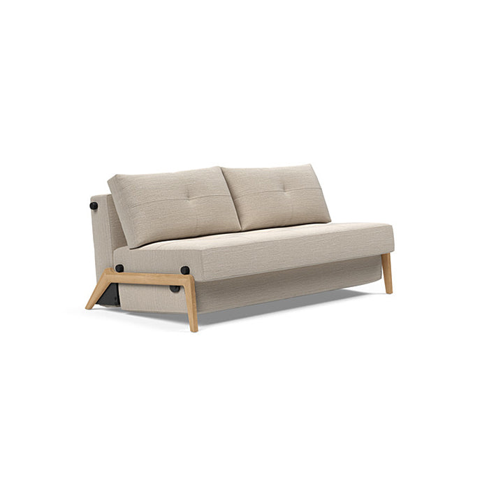 Cubed 160 Wood Sofa Bed