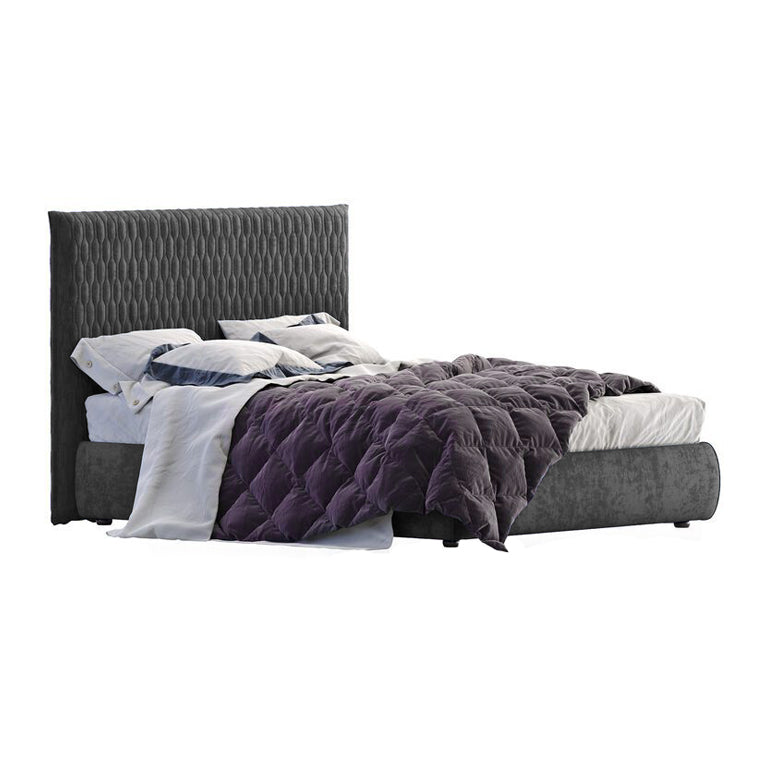 Allen King Bed Frame with Storage