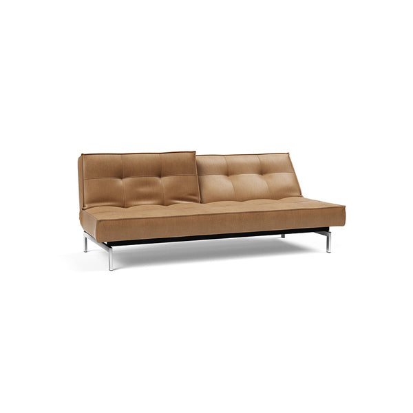 Splitback Chrome Sofa Bed