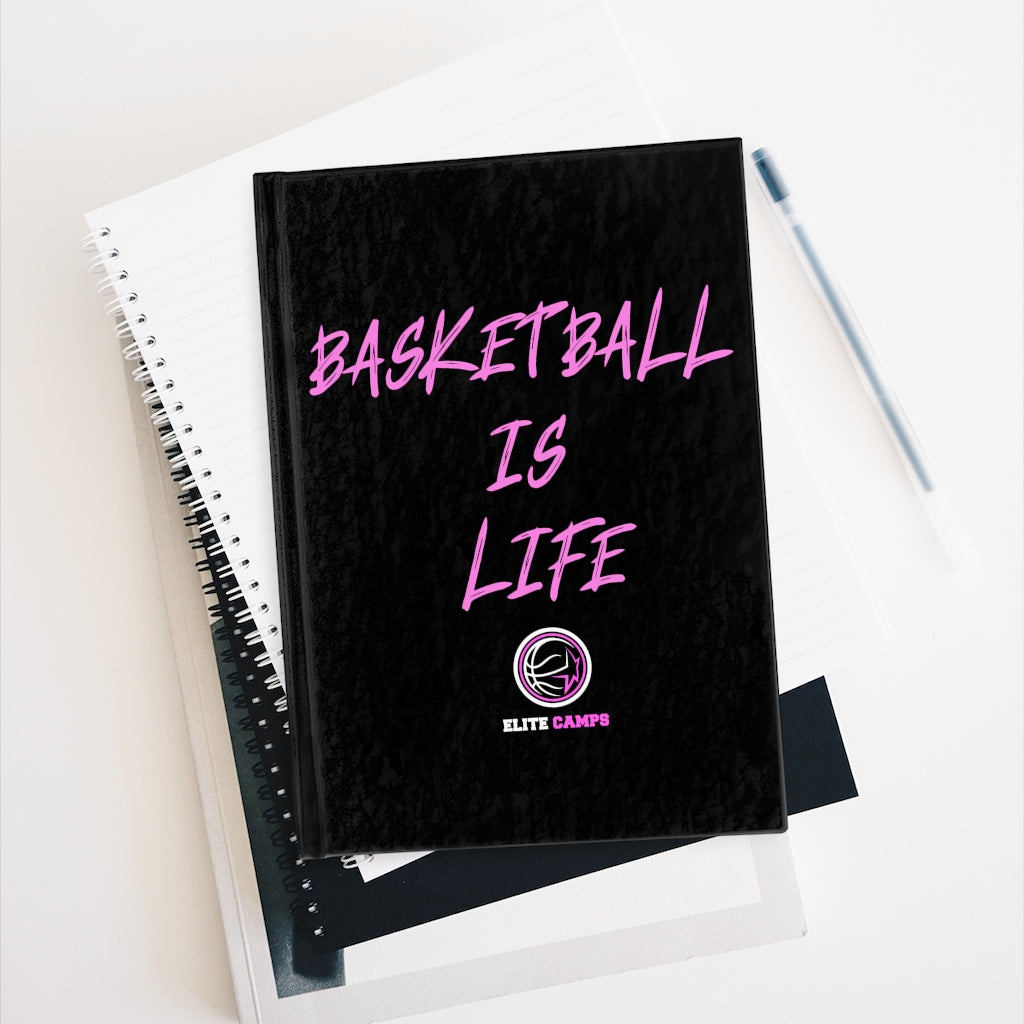 Basketball Is Life Journal - Pink Edition