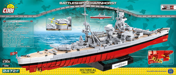 COBI World War II: Battleship Scharnhorst (4818)