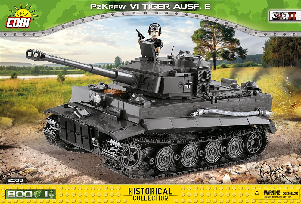 COBI World War II: PzKpfw VI Tiger Ausf. E tank (2538)