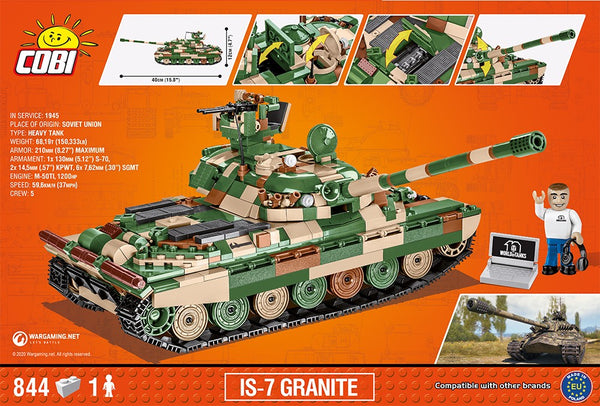COBI World of Tanks: IS-7 Granite (3040)