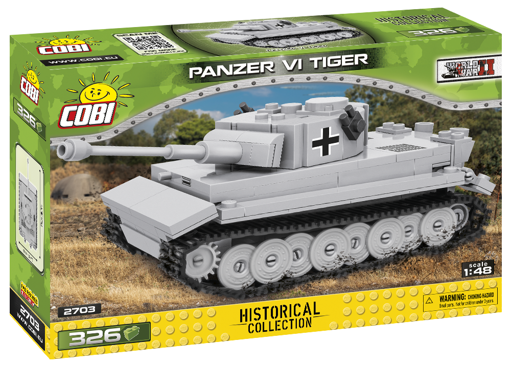 COBI World War II: Panzer VI Tiger (2703)