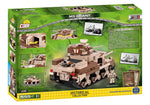Achterkant van de doos van de Cobi 2391 historical collection world war 2 m3 grant tank