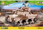 Voorkant van de Cobi 2391 bouwset historical collection world war 2 m3 grant tank