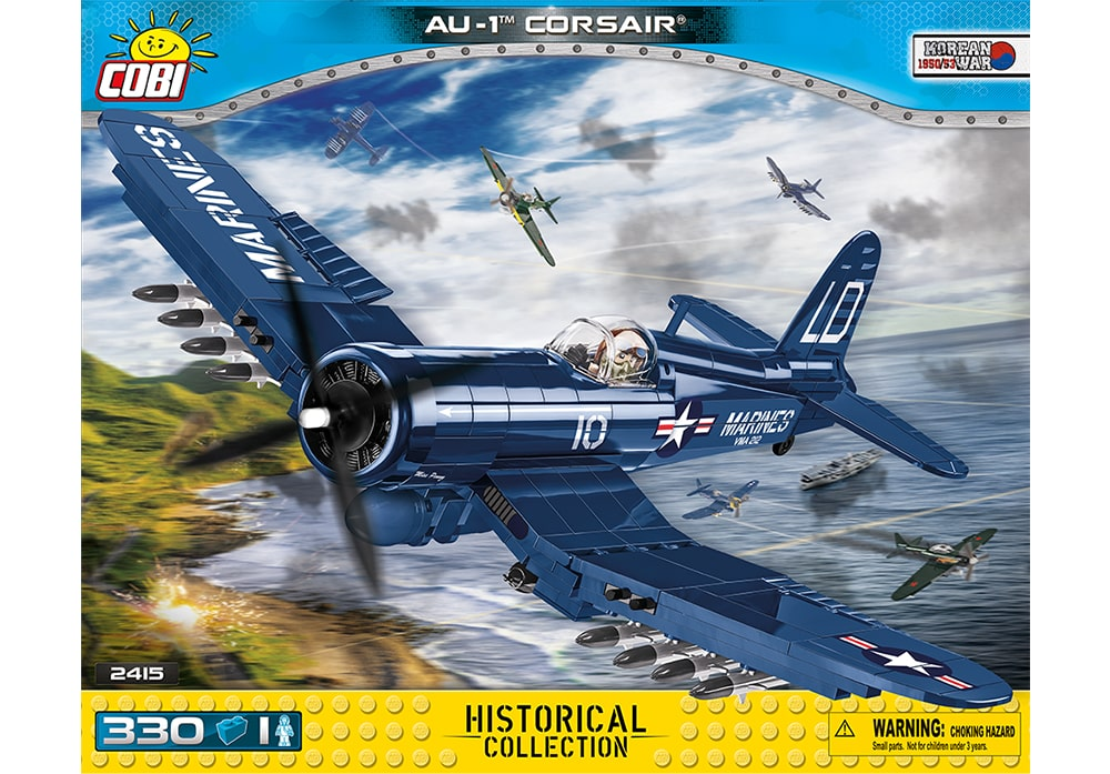 COBI Korean War: AU-1 Corsair jachtbommenwerper (2415)